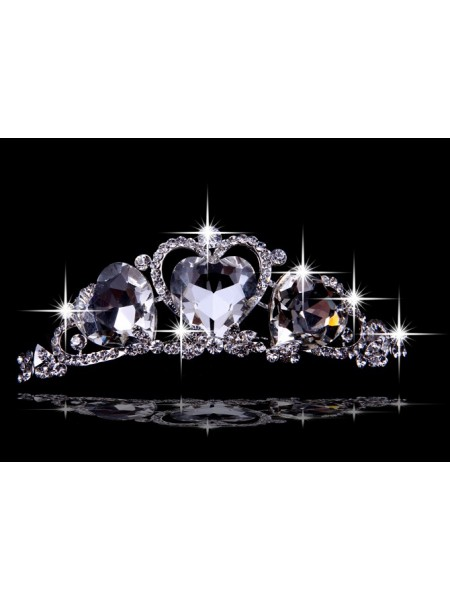 Beautiful Alloy Hearts Wedding Headpieces